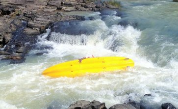 One of the Tugela Gorge rapids. Photo: Paul Fleischack