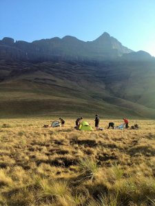 Three days are spent in the Berg. Photo: Paul Fleischack