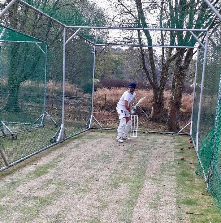 Sean Gilson in nets