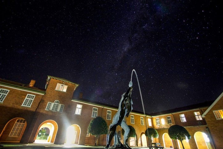 Quad at night